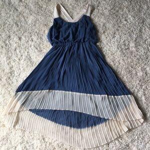 Jessica Simpson hi-low dress